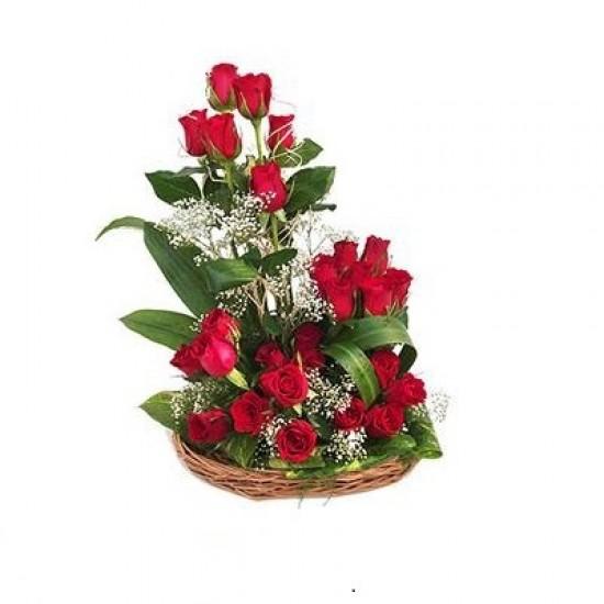20 Red Roses Arrangement