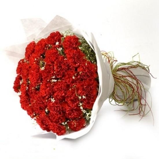 30 Red Carnation.!