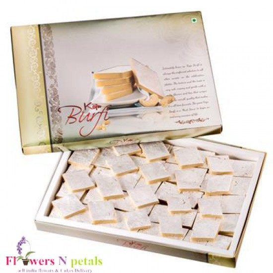 Kaju Katli ( Sweets ) ( WILL DELIVER WITH FLOWER OR CAKE ONLY )