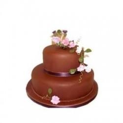 2 Tier Chocolate Cake 3Kg