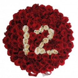 "100 red roses delivery in ""AGE"""
