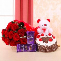 Friendly Surprise n Cake