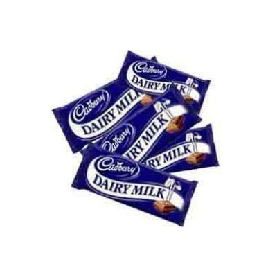 5 Dairy milk Chocolate ( WILL DELIVER WITH FLOWER OR CAKE ONLY )