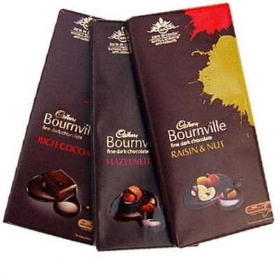 Cadbury Bournville 33Gms ( QTY 3 ) ( WILL DELIVER WITH FLOWER OR CAKE ONLY )