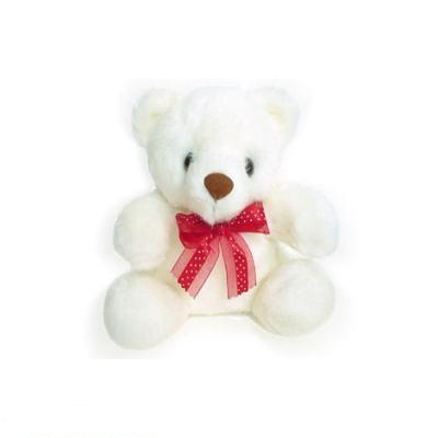 Small Teddy Bear (6″) ( WILL DELIVER WITH FLOWER OR CAKE ONLY )